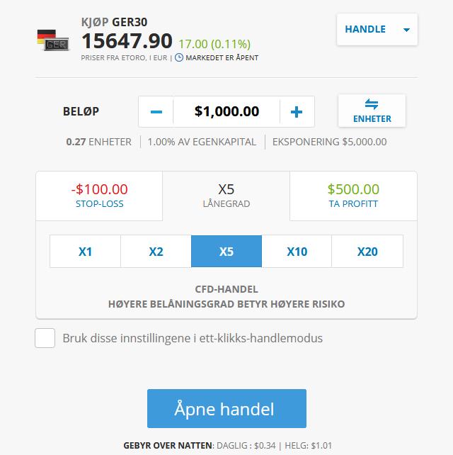 DAX-handel-etoro
